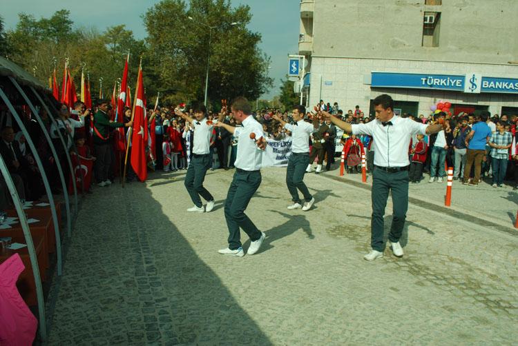 2014 Cumhuriyet Bayramı kutlama proğramı
